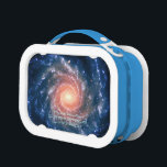 """Deep space astronomy image: Spiral Galaxy NGC 1232 Lunch Box<br><div class=""""desc"""">Galaxies, Stars and Nebulae series: A fantastic image that reveals a little of the wonder that is our universe. This spectacular image of the large spiral galaxy NGC 1232 was obtained on September 21, 1998, during a period of good observing conditions. It is based on three exposures in ultra-violet, blue...</div>"""