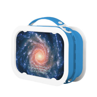 Deep space astronomy image: Spiral Galaxy NGC 1232 Lunch Box
