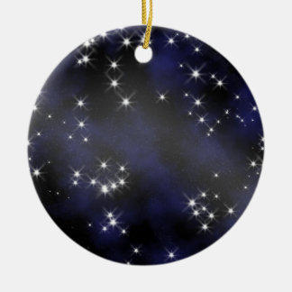Deep Space Collectible - Personalize Ceramic Ornament