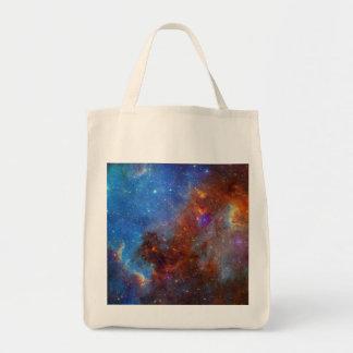 Deep Space Cotton Tote Bag