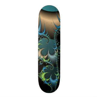 Deep Space Creature Fractal Skateboard