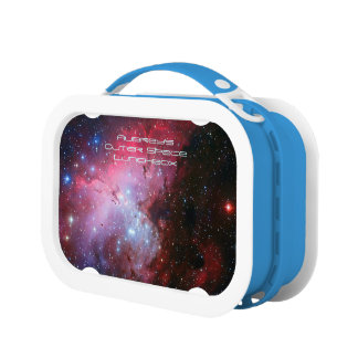Deep space: Eagle Nebula, Pi, Intriguing Astronomy Lunch Box