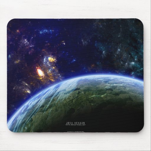 Deep Space Formation Mousepad