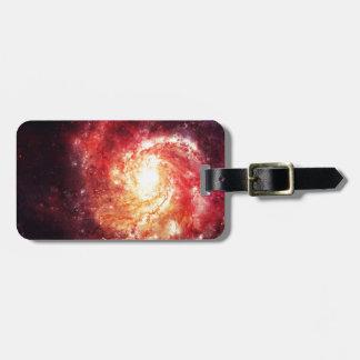 Deep Space Galaxy Messier 101 Remix Gepäckanhänger