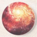 Deep Space Galaxy (Messier 101 Remix) Posavasos Diseño