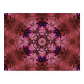 Deep Space Harmonics Mandala Postcard
