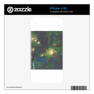 Deep Space iPhone 4S Decal