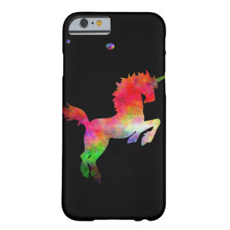Deep Space Multi-hued Unicorn iPhone(5) Barely There iPhone 6 Case