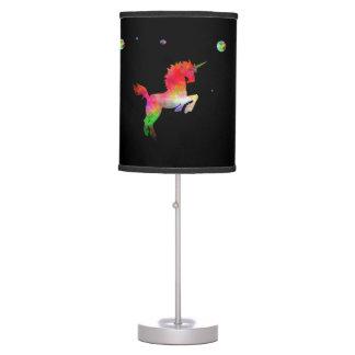 Deep Space Multi-hued Unicorn Table Lamp