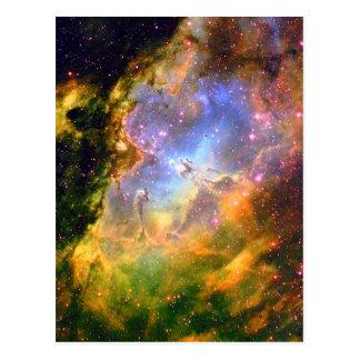 Deep Space Nebula Postcard