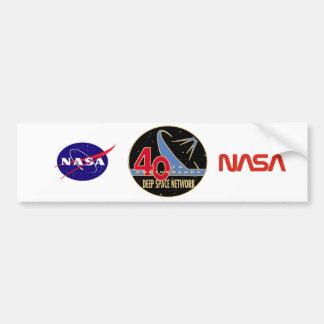 DEEP SPACE NETWORK 40th Anniversary Car Bumper Sticker