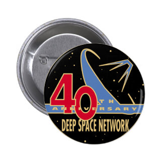 DEEP SPACE NETWORK 40th Anniversary Button