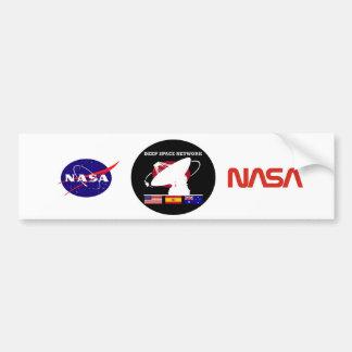 Deep Space Network 40th Anniversary Patch Car Bumper Sticker