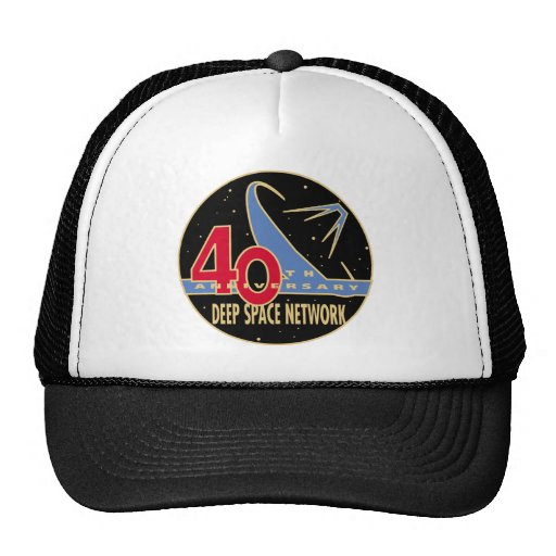 DEEP SPACE NETWORK 40th Anniversary Trucker Hats