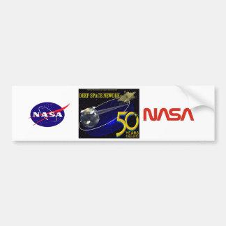 DEEP SPACE NETWORK 50th Anniversary Car Bumper Sticker