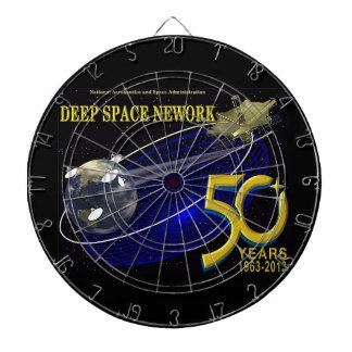 DEEP SPACE NETWORK 50th Anniversary Dartboard