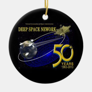 DEEP SPACE NETWORK 50th Anniversary Christmas Ornaments