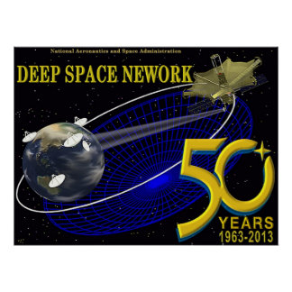 DEEP SPACE NETWORK 50th Anniversary Poster