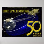 DEEP SPACE NETWORK 50th Anniversary Print