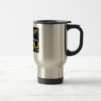 DEEP SPACE NETWORK 50th Anniversary Travel Mug