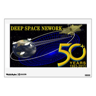 DEEP SPACE NETWORK 50th Anniversary Wall Sticker