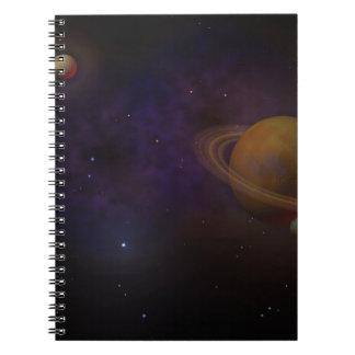 Deep Space Spiral Notebooks