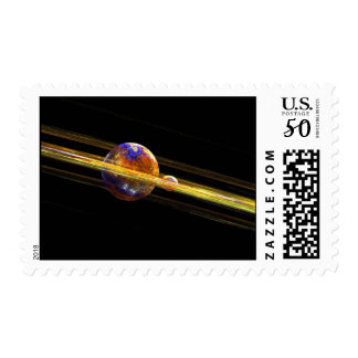 Deep Space Planet and Moon Postage
