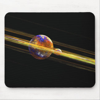 Deep Space Planet Mouse Pad