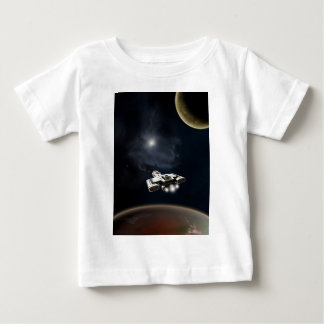 Deep Space - Science Fiction Battle Cruiser Baby T-Shirt