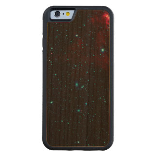DEEP SPACE STAR EXPANSE ~ CARVED® CHERRY iPhone 6 BUMPER CASE