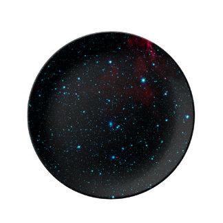 DEEP SPACE STAR EXPANSE ~.jpg Porcelain Plate