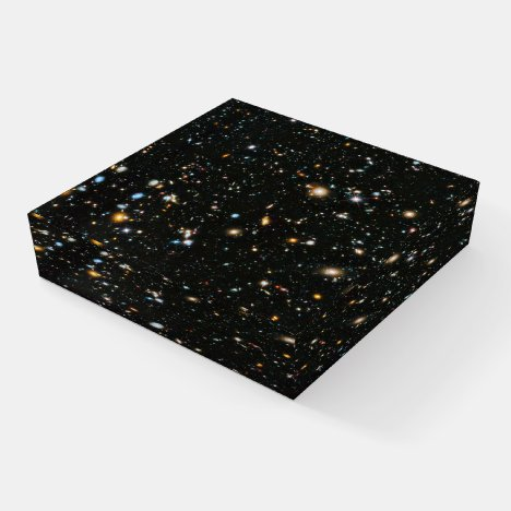 Deep Space Stars and Galaxies Paperweight