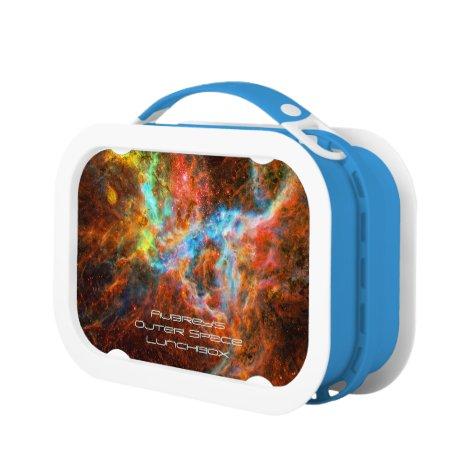 Deep space: Tarantula Nebula, Intriguing Astronomy Lunch Box