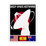 Deep Space Tracking Network Rectangular Magnets