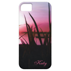 Deep Sunset Southern Lake Personalized iPhone Case iPhone 5 Case