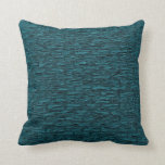 "Deep Teal Brick Pattern Lumbar and Throw Pillows<br><div class=""desc"">Deep Teal Brick Pattern Lumbar and Throw Pillows</div>"