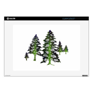 DEEP THE FOREST DECAL FOR LAPTOP