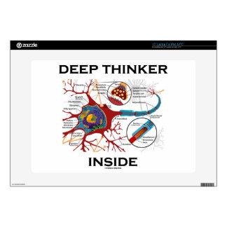 Deep Thinker Inside (Neuron Synapse) Skins For Laptops