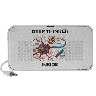Deep Thinker Inside (Neuron Synapse) Travel Speaker