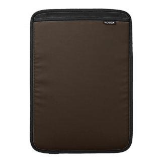 Deep Tree Trunk Brown Color Only Custom Design Sleeve For MacBook Air