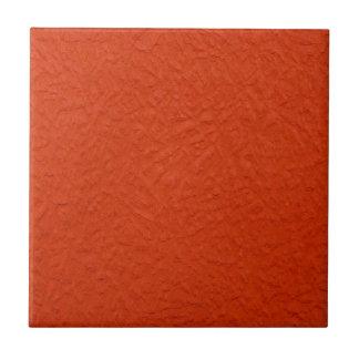 Deep Vermillion Textured Wall Ceramic Tile