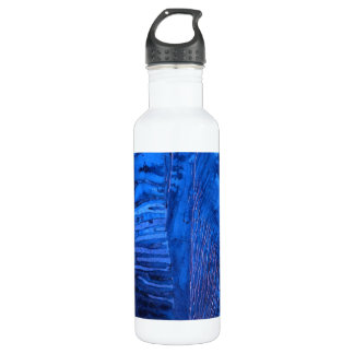 """""""Deep Waster #2""""  Tiled Abstract Liberty Bottle"""