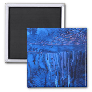 """Deep Water #2"" Abstract Art Magnet"