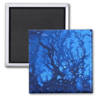 """Deep Water #6"" Abstract Art Magnet"