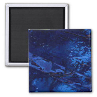 """Deep Water"" Abstract Art Magnet"