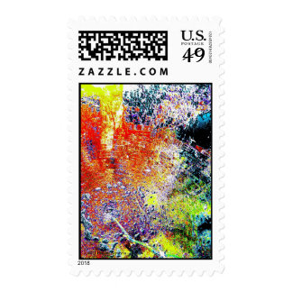 DEEP WATER ABSTRACT POSTAGE