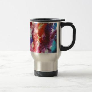 Deep Water Coral Travel Mug