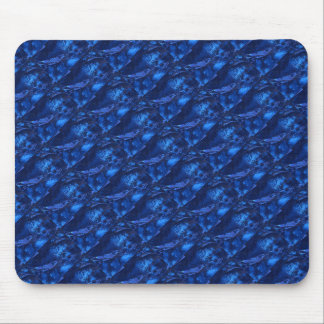 """""""Deep Waters 1"""" Tiled Abstract Design Mousepad"""