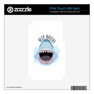 Deep Waters Skins For iPod Touch 4G