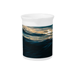 Deep Waves Drink Pitcher